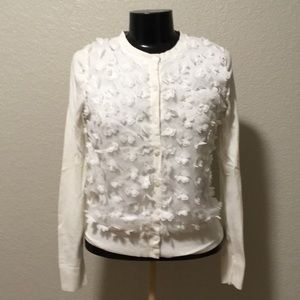 A new day white floral shirt